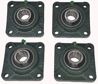 Ucf207-23 1-716 Square 4 Bolt Flange Block Mounted Bearing Unit Qty. 4