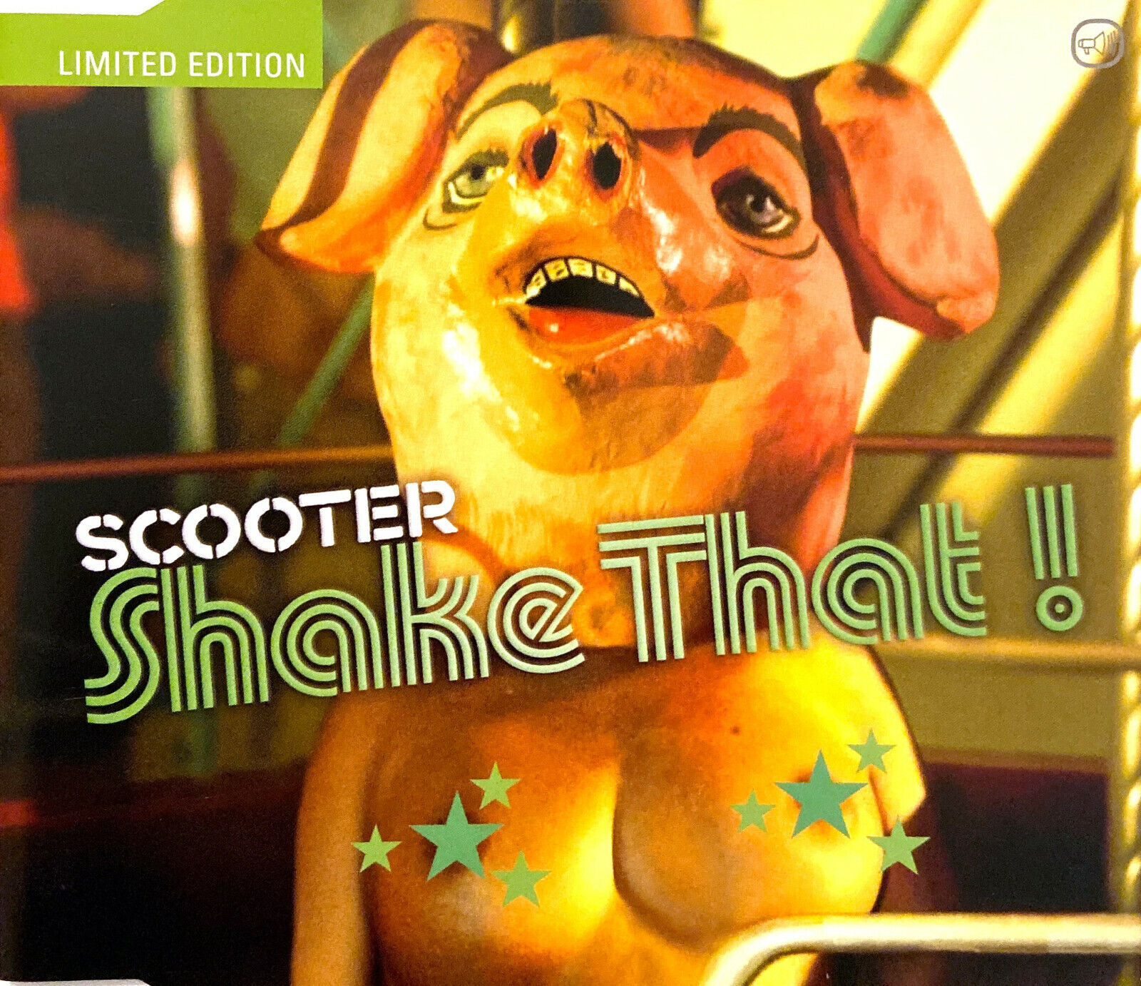 Scooter ‎maxi cd shake that! - limited edition - germany (m/ex+)