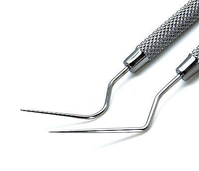 2 Pcs Spreader D11 2s Root Canal Plugger Endodontic Dental Filling Instruments