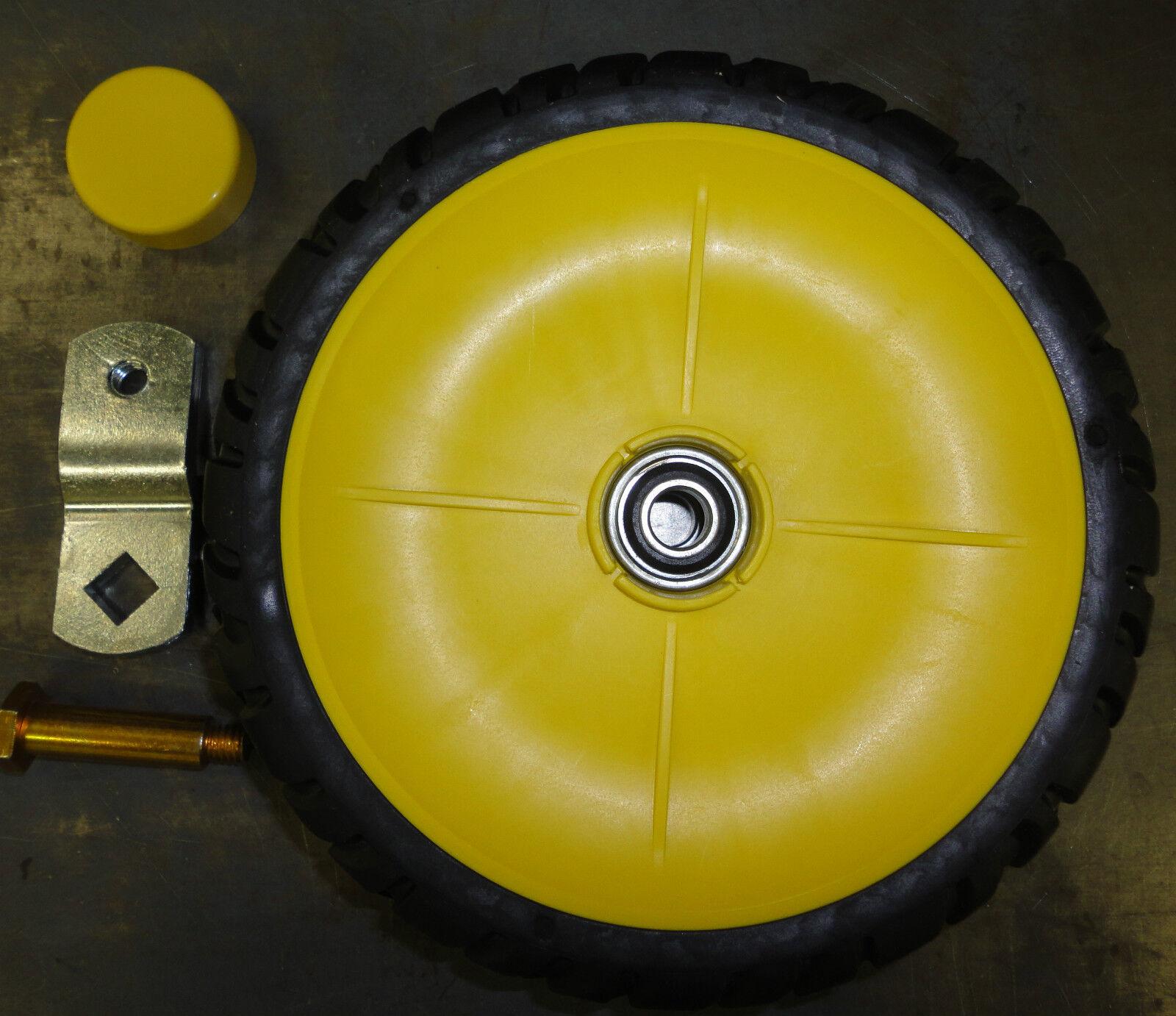 John Deere Front Caster Wheel Kit Gy21432 For Js40 Walk B...