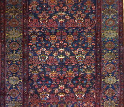 Fantastic Floral - 1910s Antique Zele Sultan Rug - Tribal Carpet - 5.3 X 13 Ft