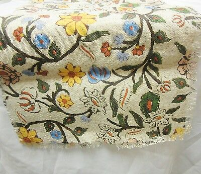 Worldmarket Oversized Floral Jute Nicolette Table Runner 88