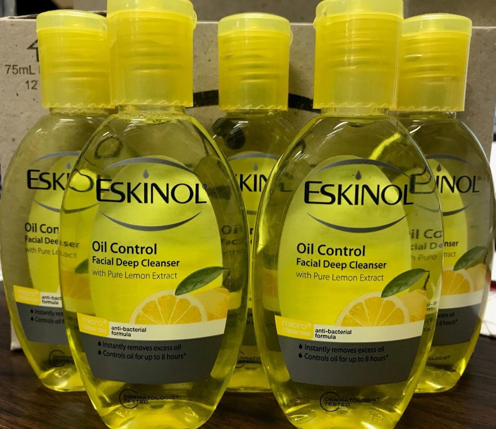 ESKINOL 5-PACK FACIAL DEEP CLEANSER 5 x 75 ML OIL CONTROL LE