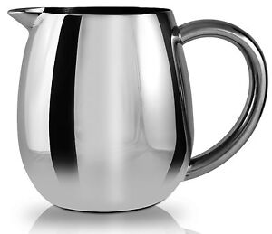 Grunwerg Cafe Ole Everyday Stainless Steel Teapot Milk Or Sugar Bowl