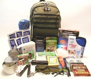 Camping and survival gear in antarctica