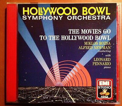 The Movies Go to the Hollywood Bowl/Hollywood Bowl SO (EMI ANGEL 1990) OOP MINT
