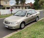 Nissan pulsar 2004 manual with RWC and Rego Reservoir Darebin Area Preview