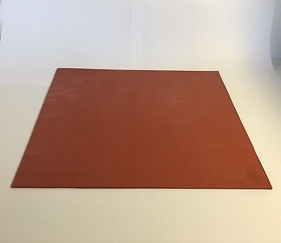 Silicone Rubber Sheet 18 - 6 X 6 Cg Durometer A-60. One Sheet.