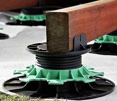 Jouplast Adjustable risers - Decking/Timber support - Levelling kit - Pedestal