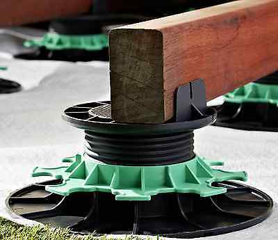 Jouplast Adjustable risers - Decking/Timber support - Levelling kit - Pedestal