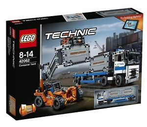 Lego Technic Container Yard 2017 42062 For Sale Online Ebay