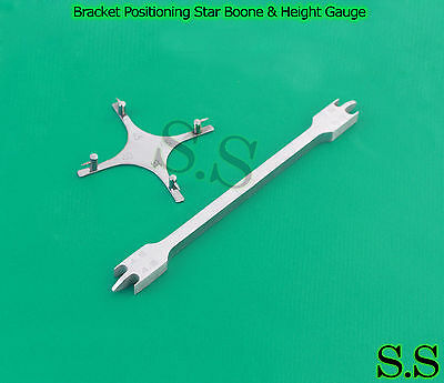 Bracket Positioning Star Boone Height Gauge Wick Type Orthodontic Dental