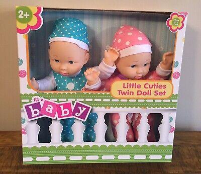 Little Cuties Twin Baby Doll Set