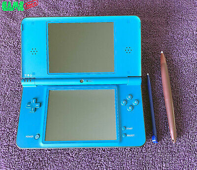 NINTENDO DSi XL CONSOLE MIDNIGHT BLUE HANDHELD SYSTEM DS TESTED RARE!