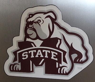 Mississippi State University Bulldogs Team Magnet Football Logo NCAA College - Mississippi State University Magnet