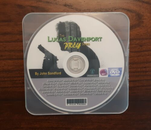 """The LUCAS DAVENPORT """"Prey"""" Series -28 MP3 Audiobook Collection -by John Sandford"""