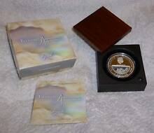 Treasures of Australia Opals Locket Coin (Silver Proof, 2008) Glenelg North Holdfast Bay Preview