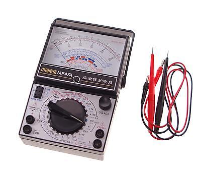 1 Volt Ohm Amp Ac Dc Battery Tester Meter Gauge Analog Multimeter