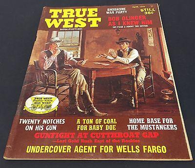 (Vintage WILD WEST Magazine ~ TRUE WEST ~ April 1970~ )