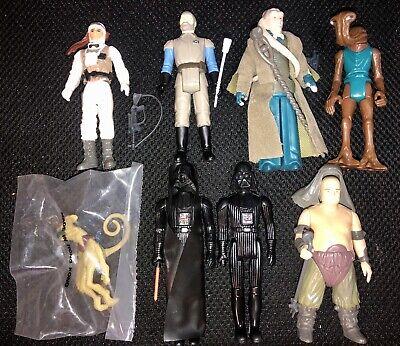 Vintage Star Wars Lot 8 Luke Darth Vader Rancor Keeper Bagged Crumb Complete