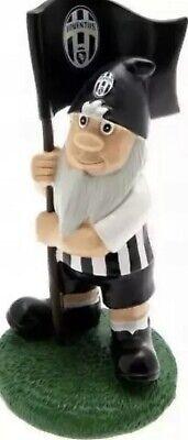 Juventus FC Garden Gnome with Flag Football (Fc Garden Gnome)