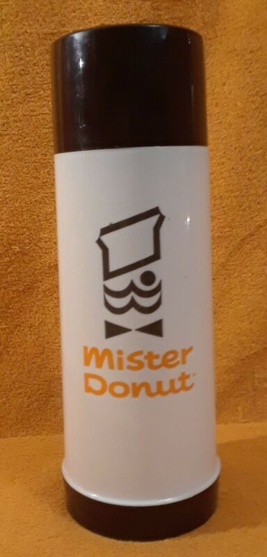 Vintage Mister Donut Large Thermos