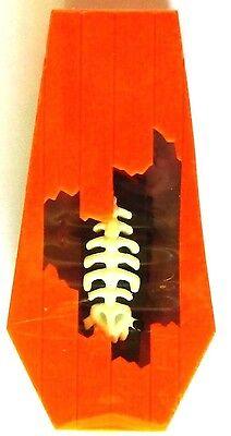 NEW! Halloween Orange Coffin Skeleton Zombie Mutant HEXBUG Nano! Glows in Dark! - Halloween Hex Bugs