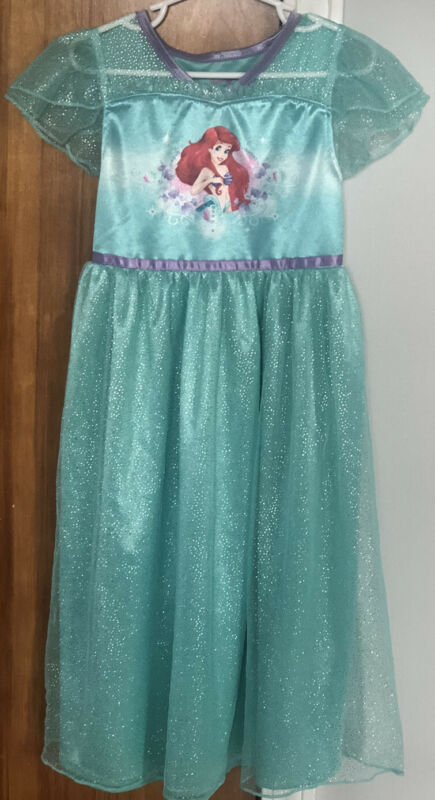 Disney Princess Ariel Nightgown Girls Size 6