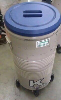 Taylor Wharton Liquid Nitrogen Cryogenic 3k Storage Tank W Wheels Racks
