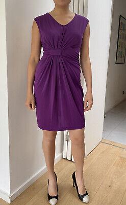 Purple Kenneth Cole Dress Stretch Fabric Size S