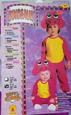 Retro Rubies Dinosaur Costume size 2-4 years Halloween Barney ](Barney Halloween Costume Toddler)