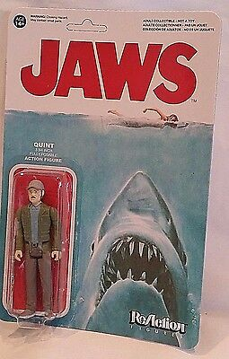 Funko Reaction Action Figure Moc Jaws Spielberg Movie Quint Cult Classic Sealed