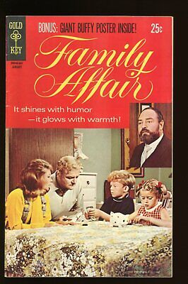 FAMILY AFFAIR #1 VERY GOOD / FINE 5.0 1970 NO POSTER / GOLD KEY