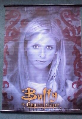 buffy the vampire slayer rare banner flag unknown origins.