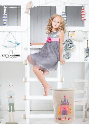 Spielzeug Aufbewahrung Box Sack Aufräumsack Spielzeugsack Organizer Mädchen rosa
