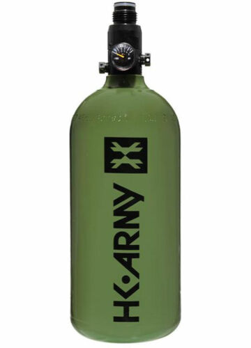 HK Army 48ci 3000psi Aluminum Compressed Air HPA Paintball Tank Olive NEW