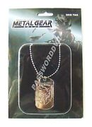 Metal Gear Solid Dog Tag