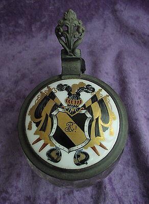 Alter Studentenkrug von 1899 Theodor von Hanffstengel Braunschweig schwarz gold