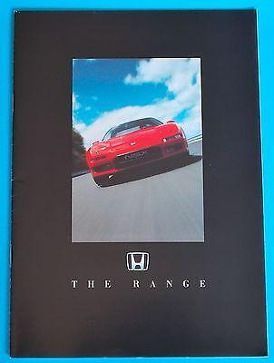1992 HONDA RANGE BROCHURE