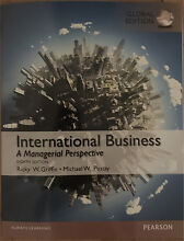 International Business A Managerial Perspective 8th Edition Hamilton Newcastle Area Preview