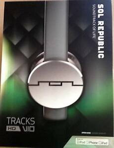 SOL REPUBLIC Tracks HD V10 On Ear HEADPHONES GREY BRAND NEW Prestons Liverpool Area Preview