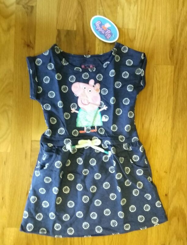 Happy Threads Peppa Pig Toddler Dress (Size 2T, 5T) NEW NWT
