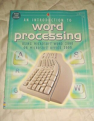 An Introduction To Word Processing Using Microsoft Word  Office Book Homeschool