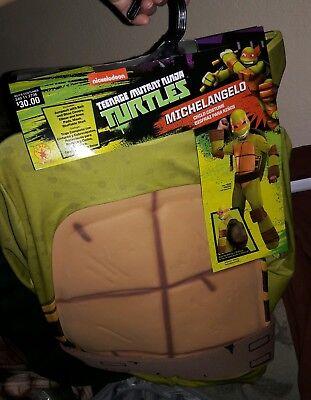 Michael Angelo Costume (Teenage Mutant Ninja Turtle Halloween Costume Ages 5-7 Michaelangelo Size M)