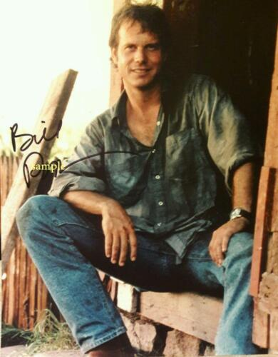 BILL PAXTON #1 REPRINT PHOTO 8X10 SIGNED AUTOGRAPHED PICTURE MAN CAVE GIFT