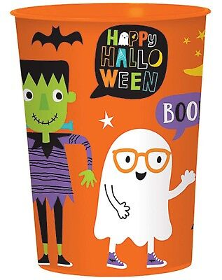 Hallo-Ween Friends Halloween Themed Plastic Party Favor - Halloween Party Favor Cups