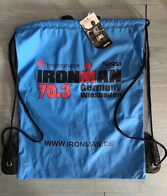 Neuer Triathlon Ironman 70.3 Wiesbaden Bag Tasche Rucksack Turnbeutel