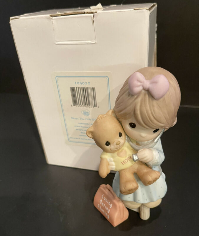 PRECIOUS MOMENTS RARE LE 2010 CONVENTION HELD SAFELY IN THE ARMS OF HOPE SIGNED