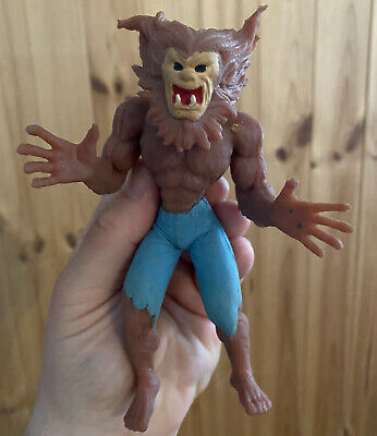 Monster Wolfman Werewolf Imperial jiggler rubber action figure toy 2002