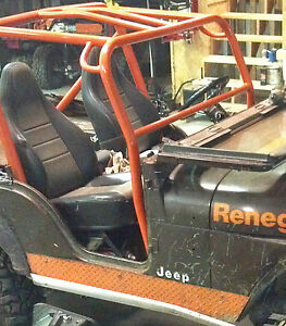 Front Roll Bar Add On Kit Jeep CJ7 1981-1986 CJ7 Front Roll Cage Add On